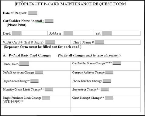 How Do I Make Changes To Ps P-Card Proxies? - Peoplesoft - Umbc Wiki
