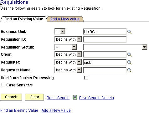 How Do I Approve A Requisition? - Peoplesoft - Umbc Wiki