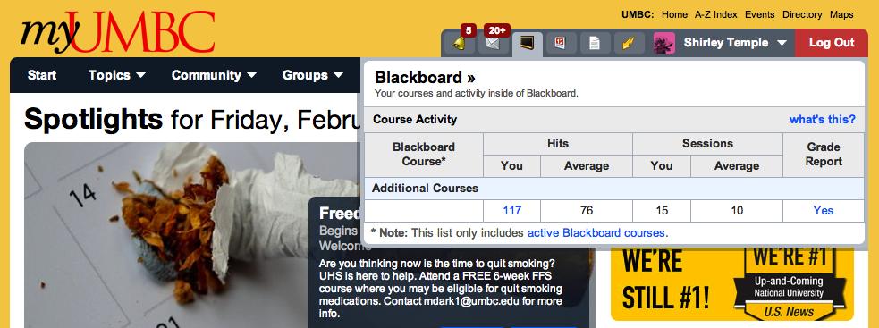 Blackboard Umb Login