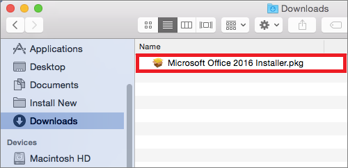 how to install office 365 on mac
